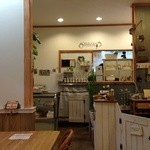 ココネ - 店内はとっても可愛く、見てるだけで楽しめます!小さな雑貨コーナーもあり、お料理の待ち時間などに見たり…( ^ω^ )絵本の中にいるようなお店です。
