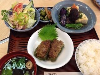 三松 - おまかせランチ 500円