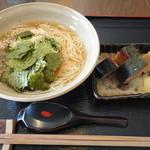 19069853 - ランチ 鯖寿司と薬味そうめん