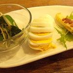 Re Cafe - パスタランチの前菜