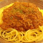 Re Cafe - ミートソーススパゲティ