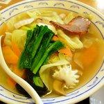 一品香 菜館 - 五目タン麺