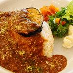ピープル アンド シングス バイ ショーパーティ - 牛ひき肉と茄子のカレー