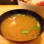 神東寿司 - 鰤あら汁