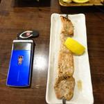 焼き物コロシアム煙神 - ジャンボ豚串し350円