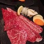 19074099 - 焼きしゃぶ定食のお肉