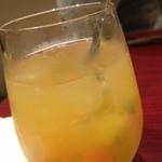 小皿キッチン ココロ - 自家製サングリア(白)ソーダ割