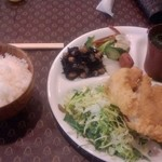 19079909 - 鶏カツ定食@¥850