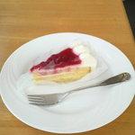 カフェレストラン すてんぱれ - イチゴケーキ