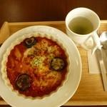 cafe Iris - ナスとトマトのペンネグラタン