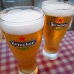 串工門 - 生ビール
