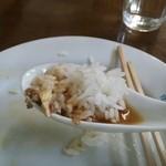 みづほ - マーボーラーメンのスープがご飯に合うんです^^