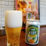 福星門 - 台湾パインナップルビール