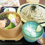 Kikyou - ミニわっぱ飯セット(980円)