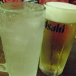 春田屋 - 生ビールとレモンサワー
