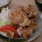 チャボ食堂 - 料理写真:から揚げ定食~☆