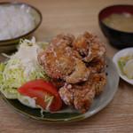 チャボ食堂 - から揚げ定食~☆