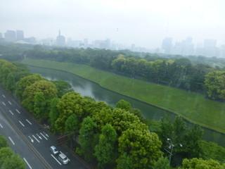 アルゴ - 2013年5月この日は雨で、皇居も煙っていました。