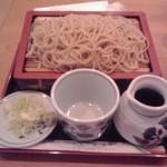 いなりや - もりそば550円也 (2013/5)