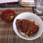 ふれあ - 料理写真:ソースかつ丼