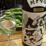 19089248 - 醸し人九平次純米吟醸雄町 2012