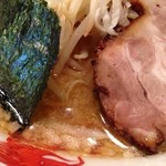 一兆堂ラーメン - 煮干とんこつ850円