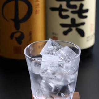 地酒は辛口純米・吟醸酒!
