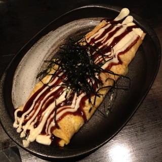お好み焼き のろ 赤坂本店 - チーズ入りとんぺい焼き(945円)