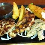 ビッグボーイ - ハンバーグ&チキン&フライ&豚肉