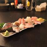 産直屋 魚渋 - メール刺し盛り