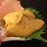 産直屋 魚渋 - 水雲丹