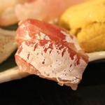 産直屋 魚渋 - スズキの昆布〆