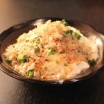 産直屋 魚渋 - おぼろ豆腐