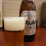 天津閣 - 外せませんビール