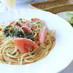 パスタ パスタ - 料理写真:オススメの日替わりパスタセットは700円