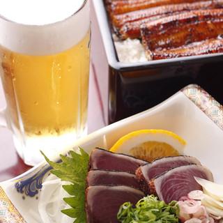 厳選した素材で、うな泰自慢の鰻料理に舌鼓!