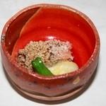 竹千代霧島 - 南九州の伝統的な和菓子,あくまき。これを玄米とともに揚たものが登場。