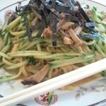 新大宮 中華のサカイ - 新大宮 中華のサカイ 本店の焼豚冷麺( 大)1100円(12.09)