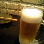串焼き おんば - ビール