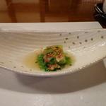 なる海 - 料理写真:先付け