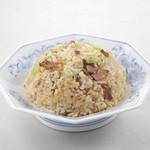 福しん - 炒飯三昧その1 定番・焼豚チャーハン430円