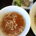 19101620 - スープと漬物