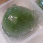 京都・東山茶寮 - 2013.05 水まんじゅう、抹茶あん、皮は薄めでプルプル♪