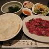 三幸園 - 料理写真:ロース焼肉定食1050円