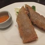 中国料理 桃翠 - ベトナム風揚げ春巻き。
