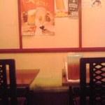 天龍軒 - テーブル席