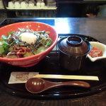 茶寮 浜ぐら - 赤の他人丼(大盛り)
