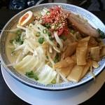 孔明 - ON野菜みそつけ麺、麺