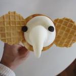 象の鼻カフェ - ゾウノハナ ソフトクリーム