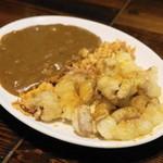 モアナ - 料理写真:2013.5 カレーシロモツ焼き(650円)